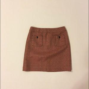 Loft Ann Taylor mini straight skirt size 2 new